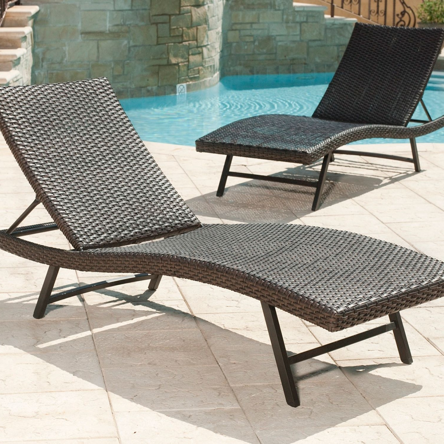 Martha Stewart Outdoor Chaise Lounge Chairs Pertaining To Fashionable Member's Mark® Heritage Chaise Lounge Chair – Sam's Club (View 14 of 15)