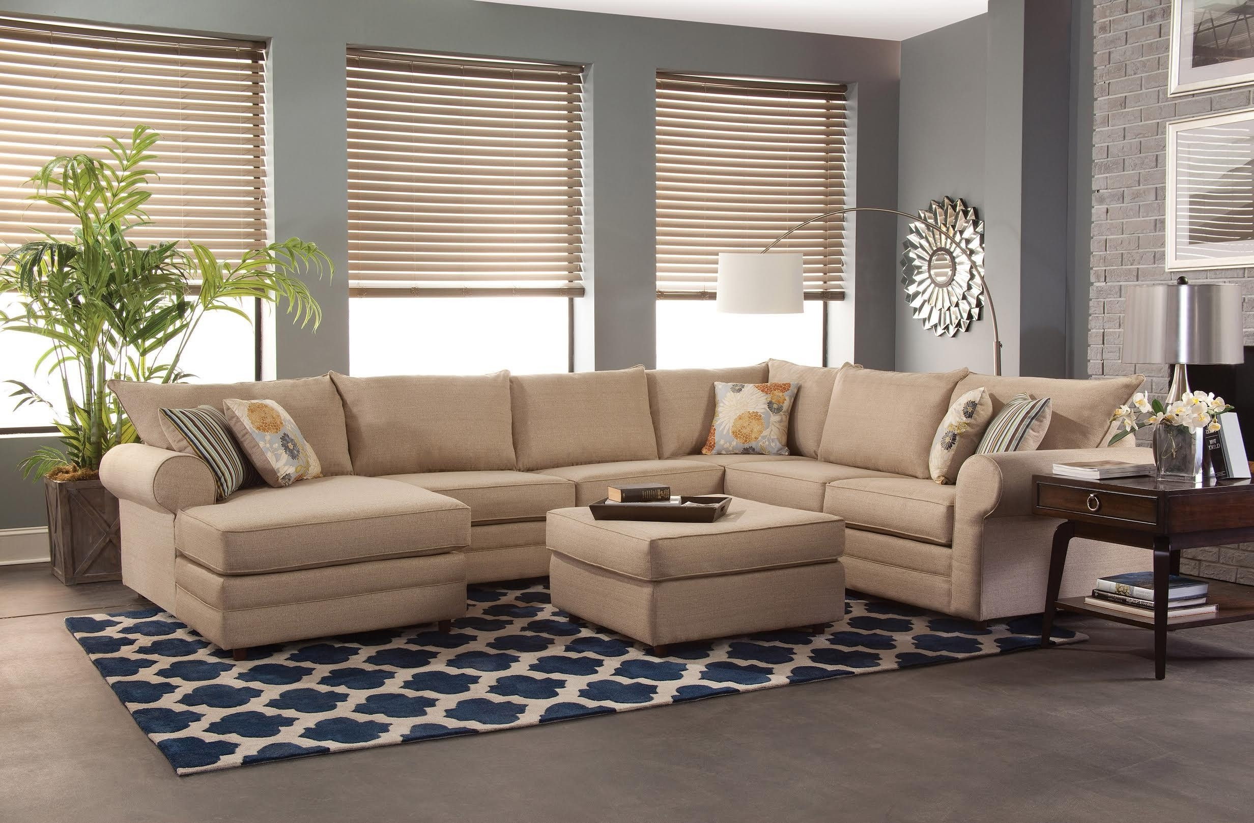 Maryland Sofas Intended For Most Up To Date Belfort Essentials Monticello Casual Sectional Sofa (View 9 of 15)