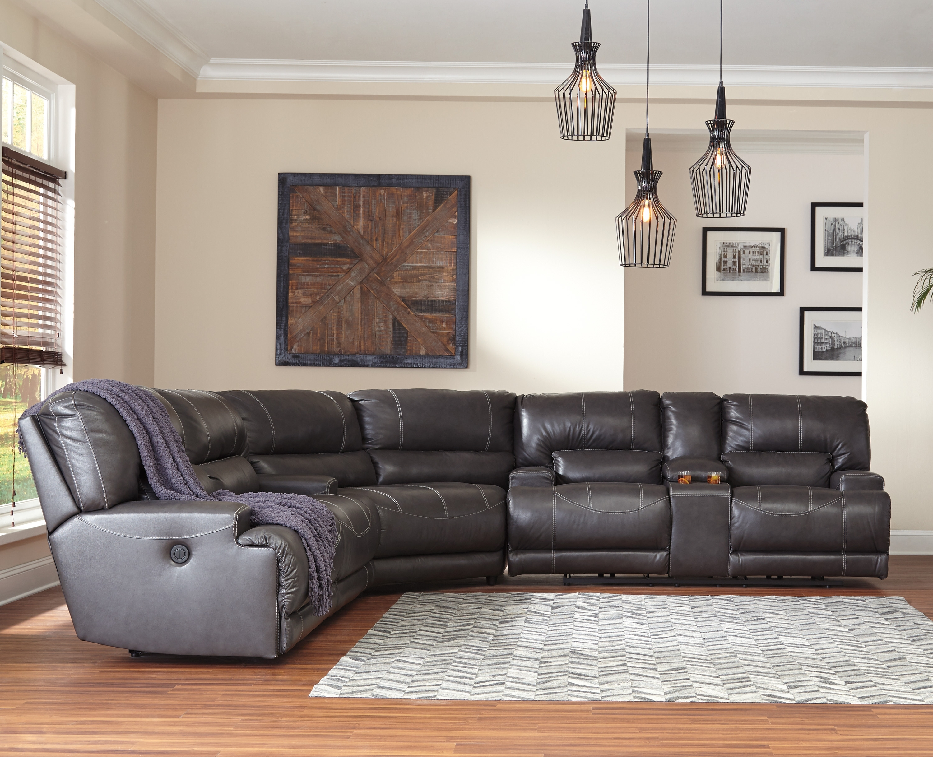 [%Mccaskill Collection U60900 100% Genuine Leather Sectional With Pertaining To Preferred Sectional Sofas With Power Recliners|Sectional Sofas With Power Recliners Throughout Newest Mccaskill Collection U60900 100% Genuine Leather Sectional With|Well Known Sectional Sofas With Power Recliners With Mccaskill Collection U60900 100% Genuine Leather Sectional With|Latest Mccaskill Collection U60900 100% Genuine Leather Sectional With Intended For Sectional Sofas With Power Recliners%] (View 13 of 15)