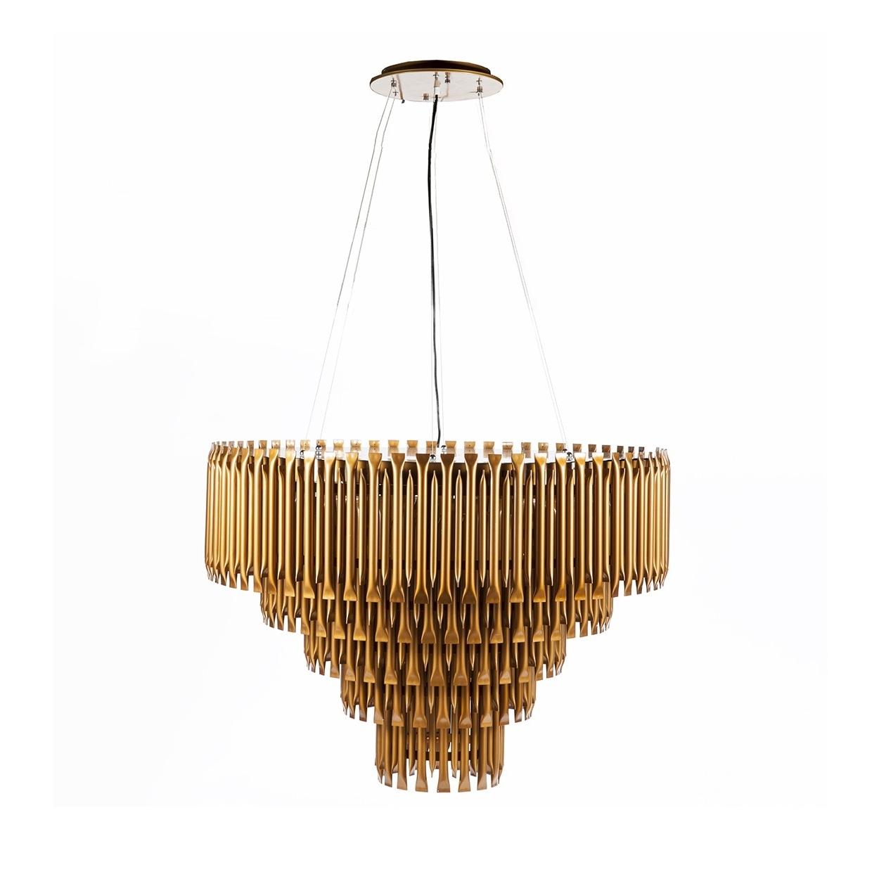 Mcgrath Mid Century Modern Led Chandelier At Modernist Lighting With Current Bronze Modern Chandelier (View 2 of 15)