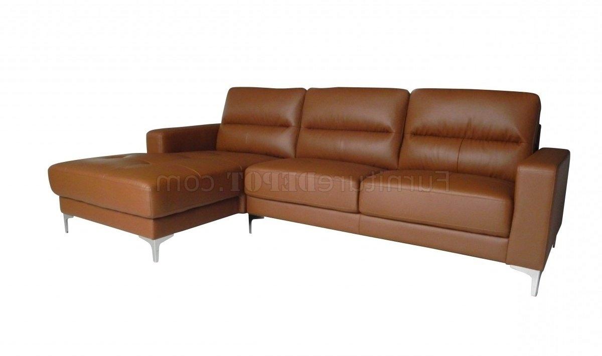 Memphis Sectional Sofa In Tan Bonded Leatherwhiteline For Well Liked Memphis Sectional Sofas (View 7 of 15)