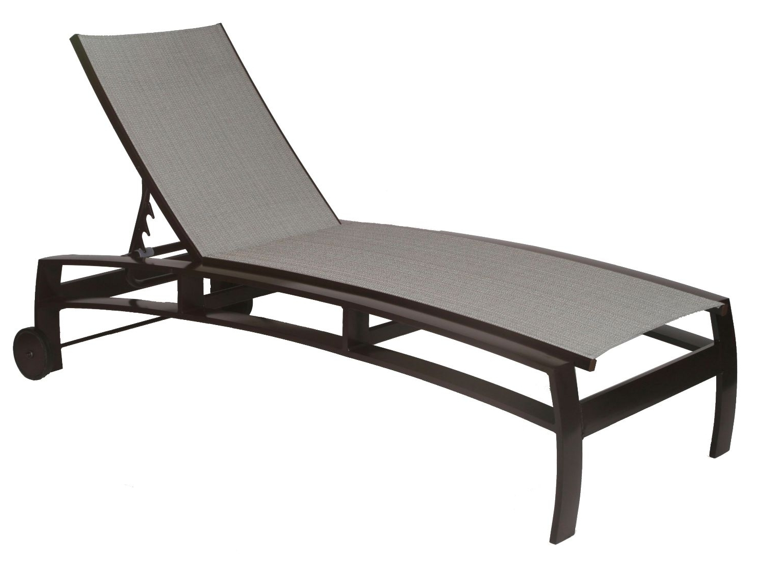 Mesh Lounge Chair Armframe – 438 Oalias Design Alberto Meda Intended For Fashionable Outdoor Mesh Chaise Lounge Chairs (View 3 of 15)