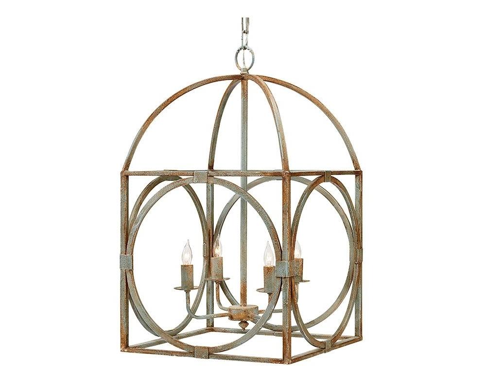 Metal Birdcage Chandelier – Magnolia Home Regarding Best And Newest Cage Chandeliers (View 8 of 15)