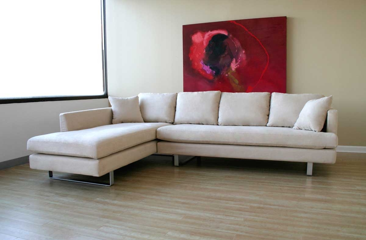 Microsuede Sectional Sofas Pertaining To Famous Interior: Sectional Couches Microfiber (View 9 of 15)