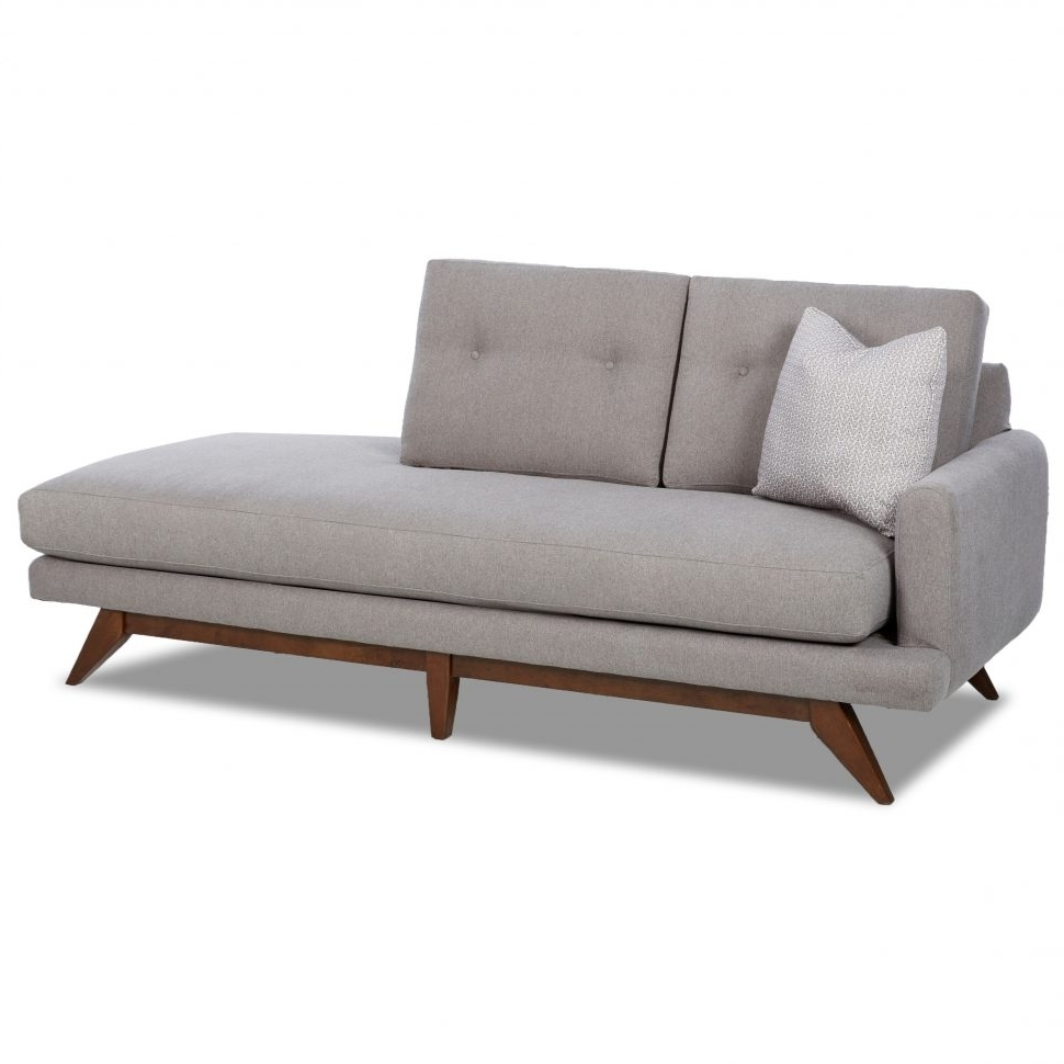 Mid Century Modern Chaise Lounges In Popular Sofa : Gorgeous Mid Century Modern Chaise Warren Lounge Sofa Mid (View 8 of 15)