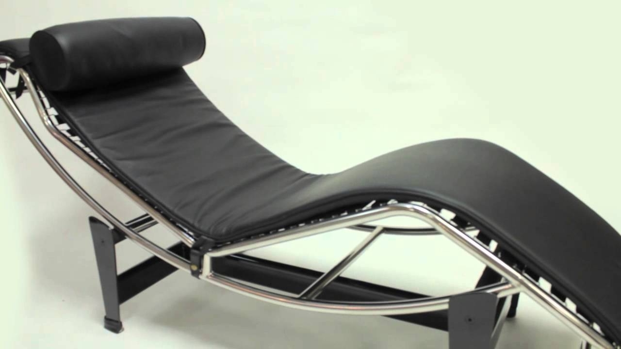 Mid Century Modern Chaise Lounges Intended For Current Lc4 Chaise Lounge – Le Corbusier – Iconic Furniture – Mid Century (View 11 of 15)