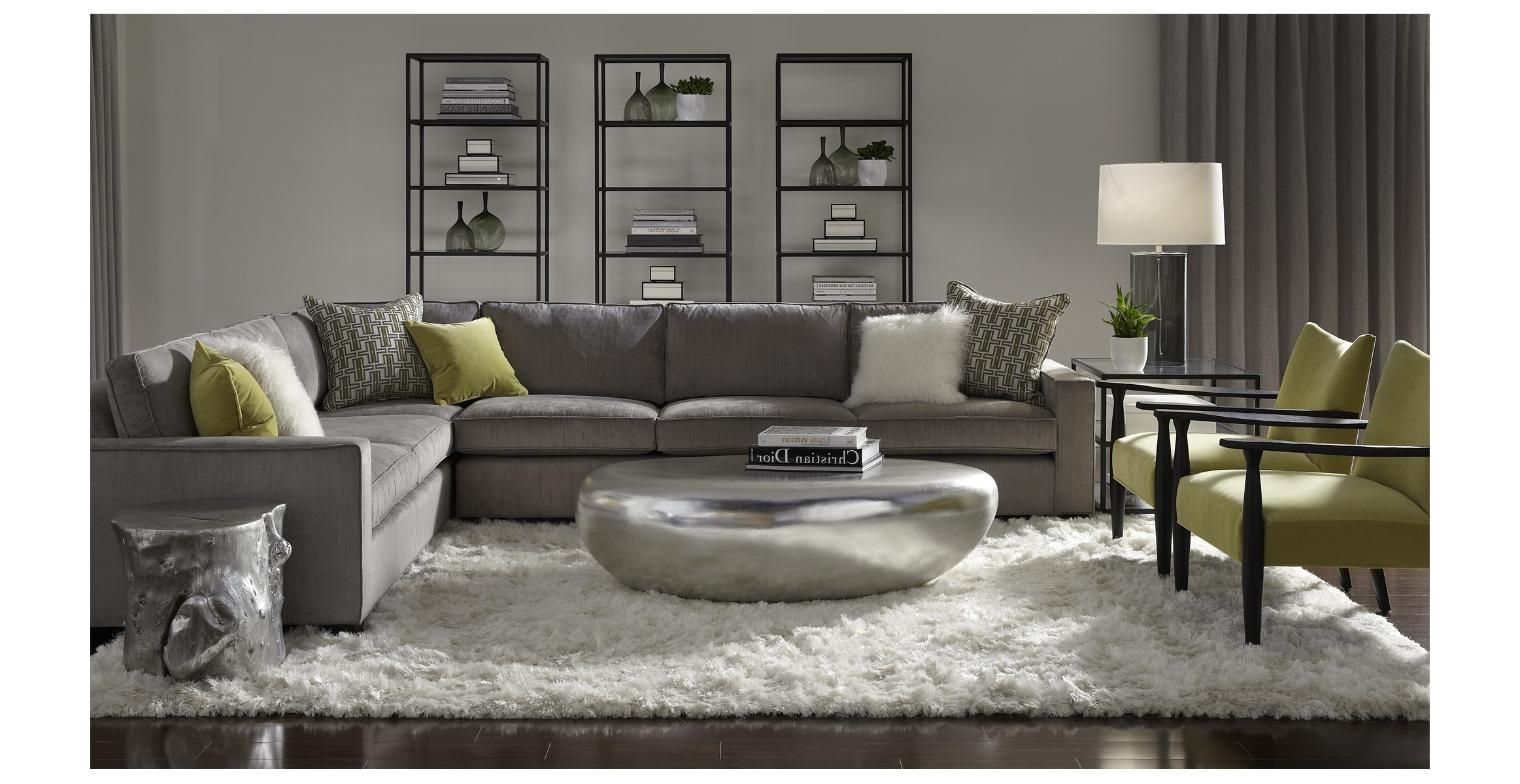 Mitchell Gold Sectional Sofa (View 4 of 15)