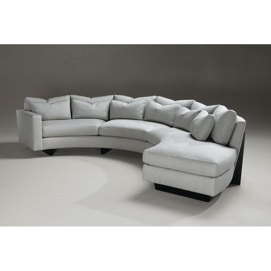 Modern And Contemporary Inside Most Current Rounded Sofas (View 2 of 15)