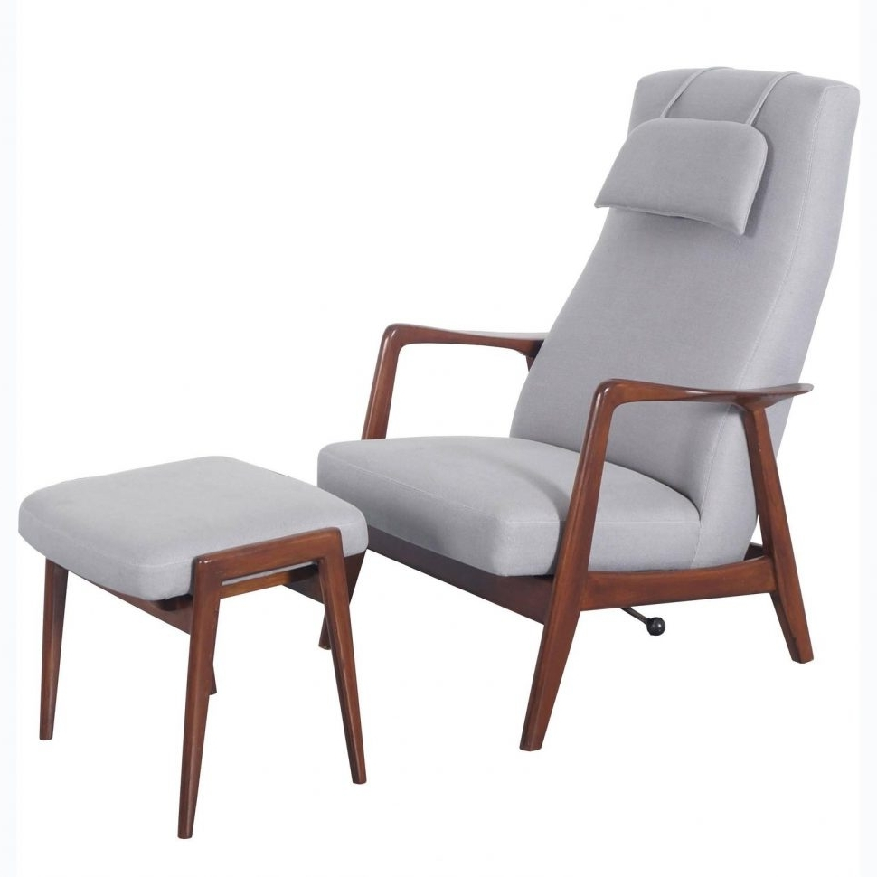 Modern Chaise Lounge Chairs For Recent Lounge Chair : Chaise Lounge Modern Swivel Accent Chair Armchair (View 6 of 15)