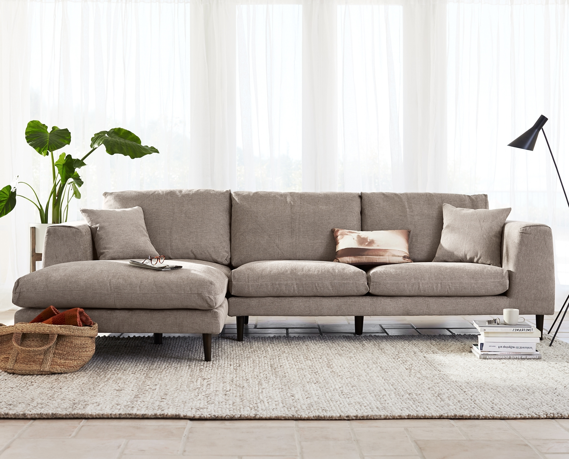 Modern Chaise Sofas Throughout Recent Jorgen Chaise Sectional (View 9 of 15)