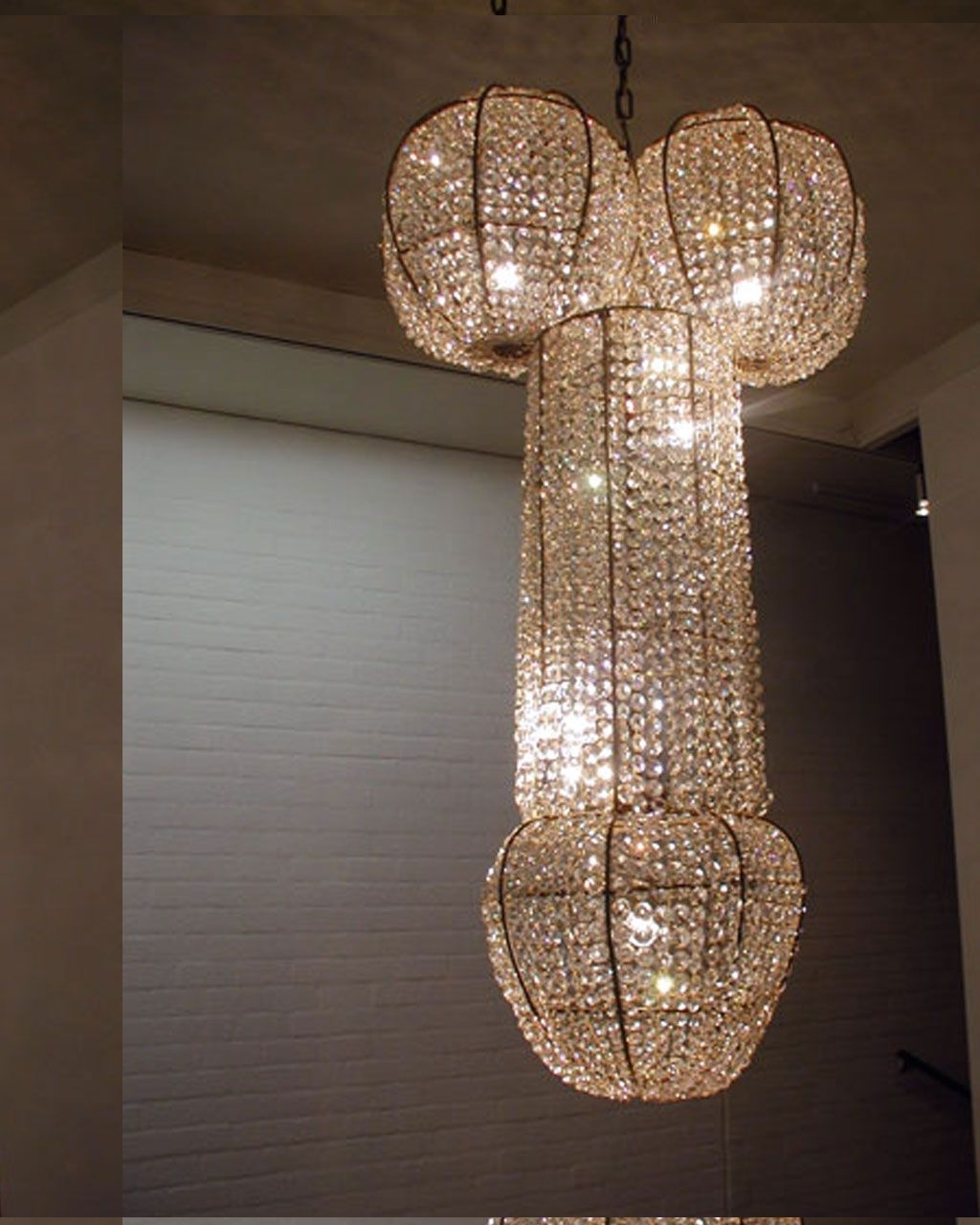 Modern Creative Chandeliers Design – Looks More Like A Penis (View 13 of 15)
