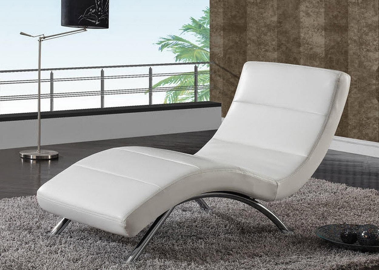 Modern Design Living Room Beauteous Chaise Lounge Chairs For Throughout Recent Modern Chaise Lounge Chairs (View 11 of 15)