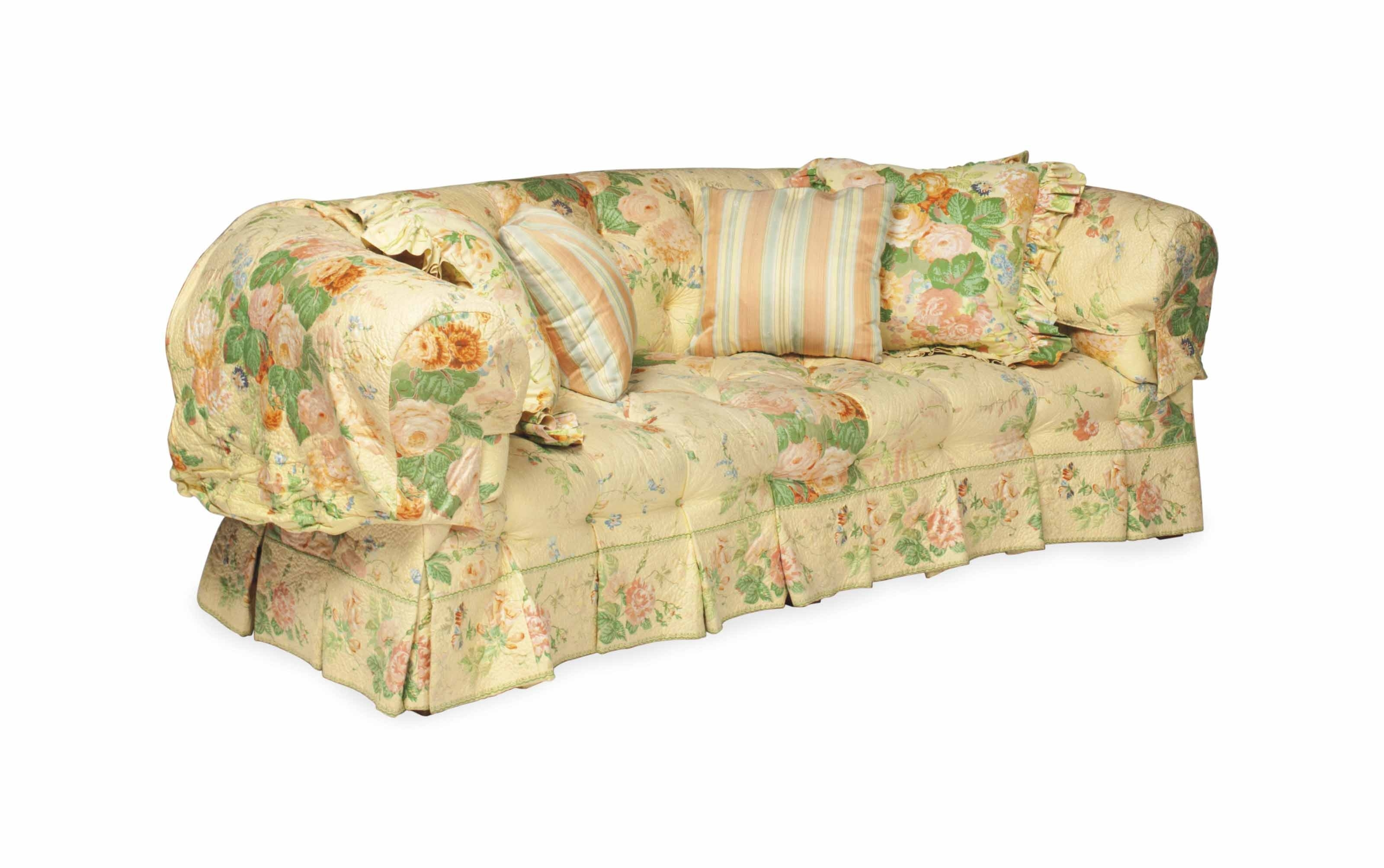 Modern Inside Current Yellow Chintz Sofas (View 3 of 15)