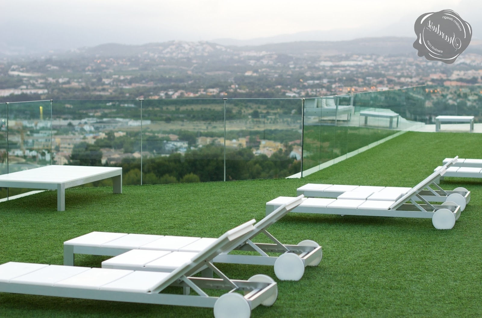 Modern Outdoor: Na Xemena Furniture Tumbonagandia Blasco With Regard To Most Recently Released Modern Outdoor Chaise Lounges (View 14 of 15)