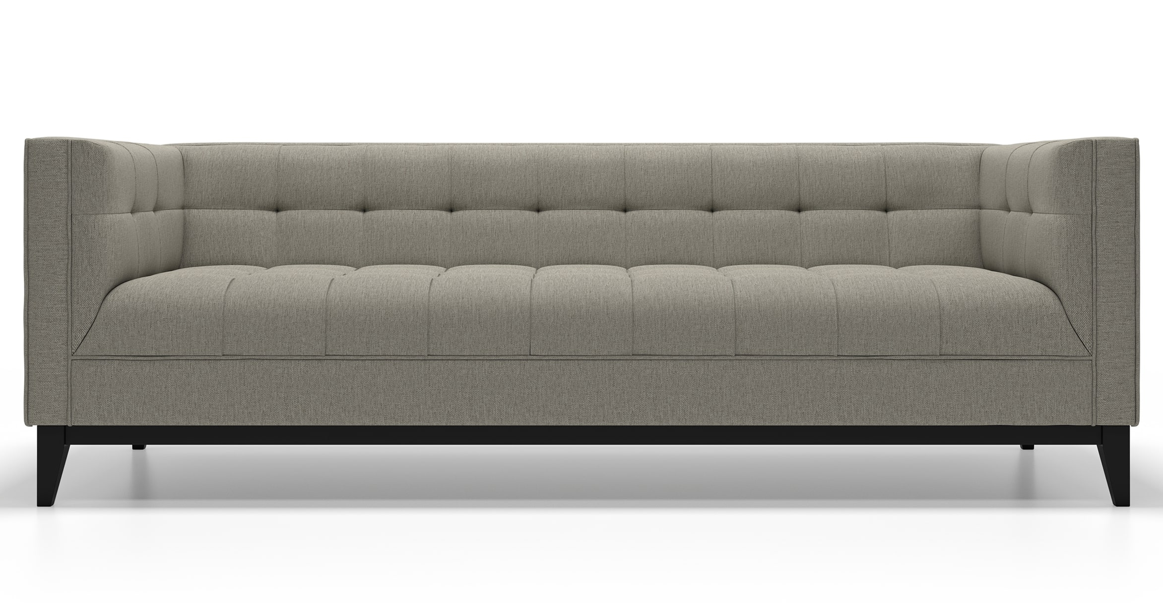 Modern Sofas Inside Widely Used Mid Century Modern Sofas, Alcott In Fabric (View 12 of 15)