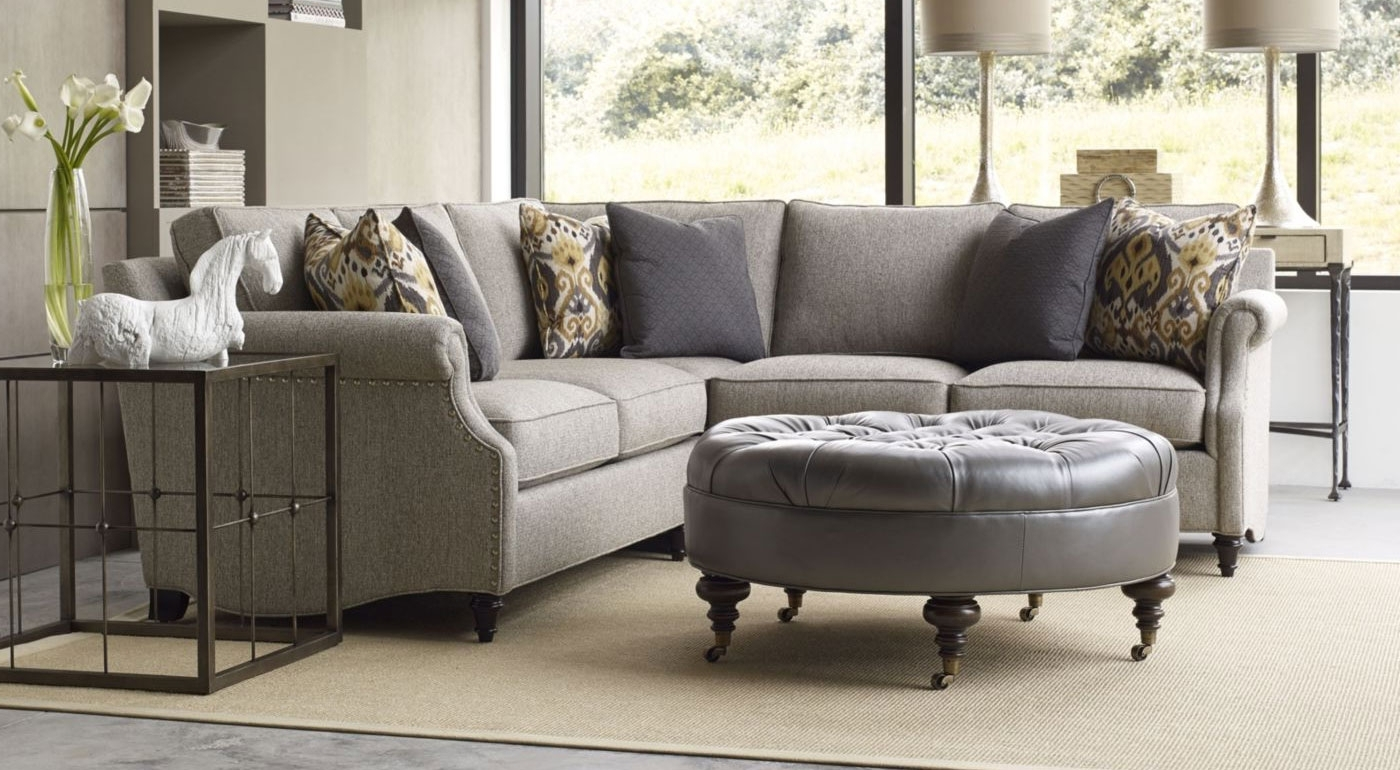 Modern Style Thomasville Sectional Sofas With Thomasville Living Pertaining To Well Liked Thomasville Sectional Sofas (View 11 of 15)