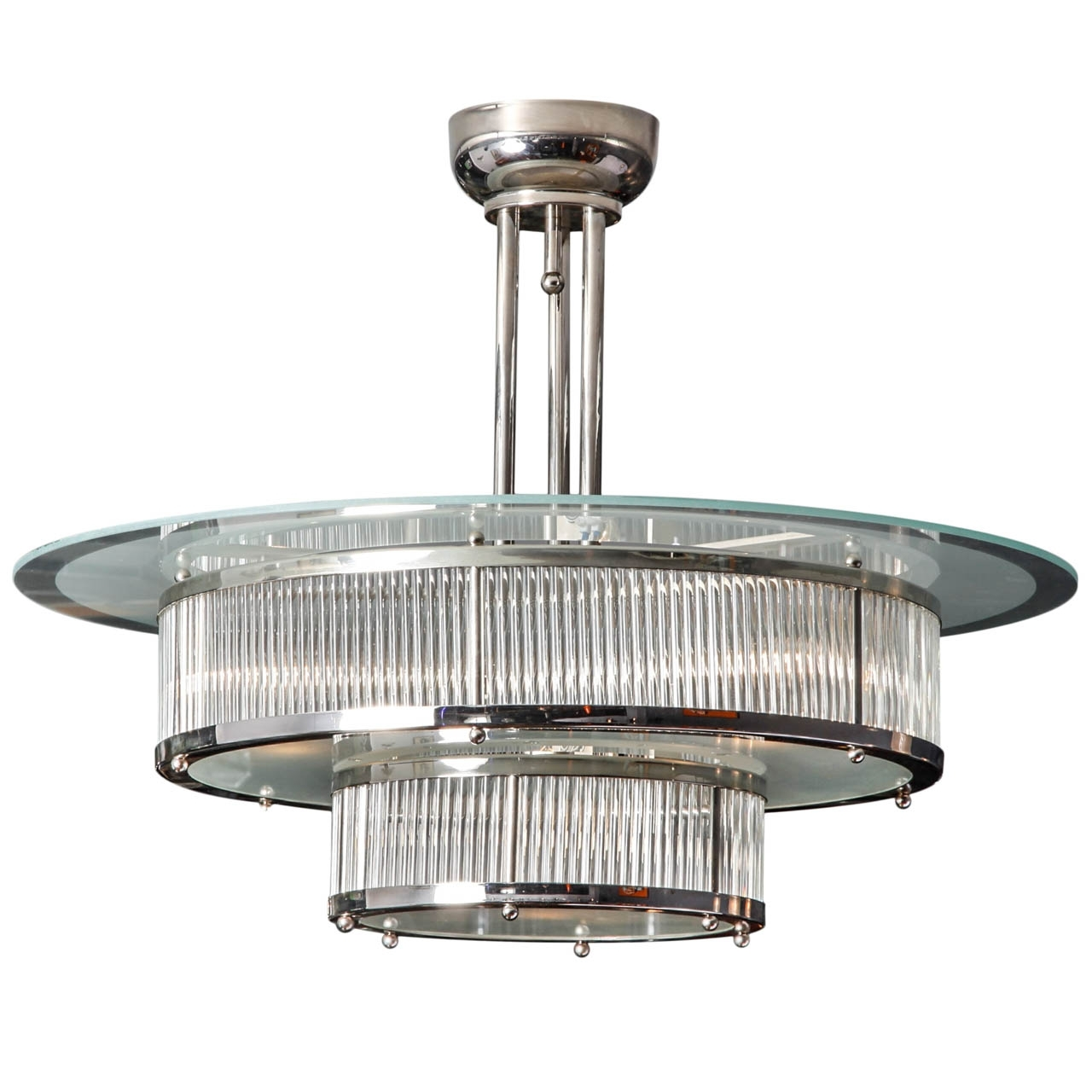 Modernism Regarding Trendy Art Deco Chandeliers (View 7 of 15)