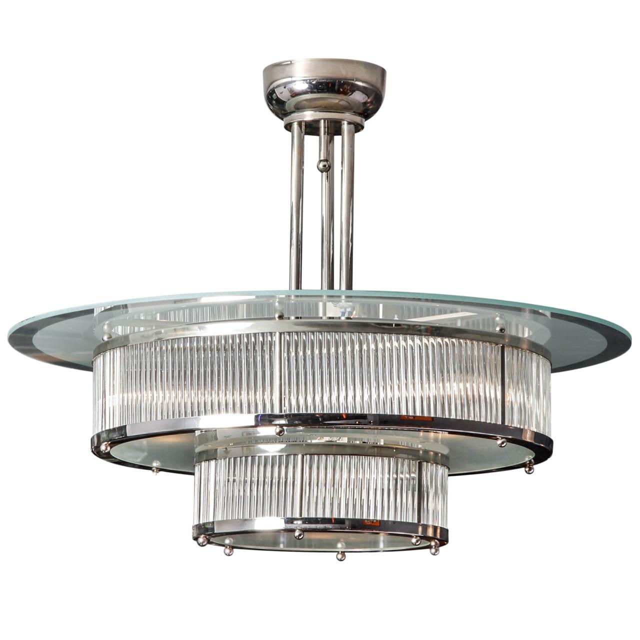 Modernism Regarding Trendy Art Deco Chandeliers (View 5 of 15)