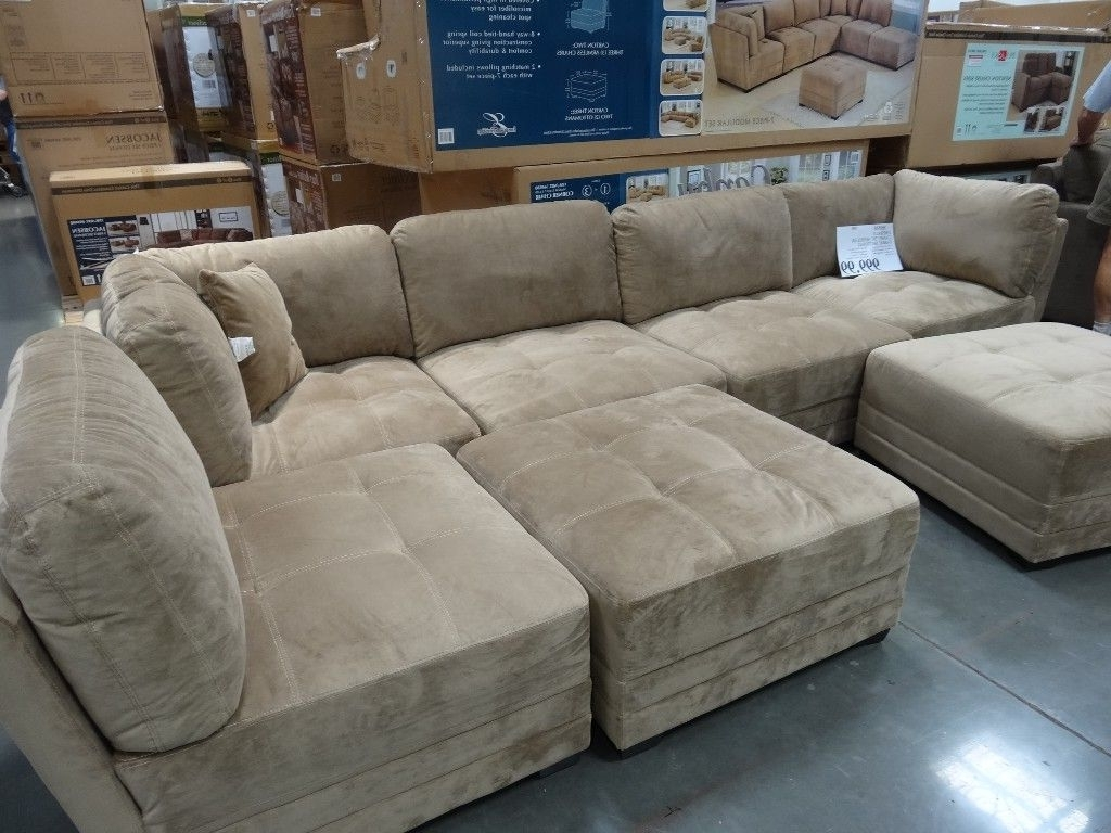 Modular Sectional Sofas Within Fashionable Canby Modular Sectional Sofa Set Costco (View 10 of 15)