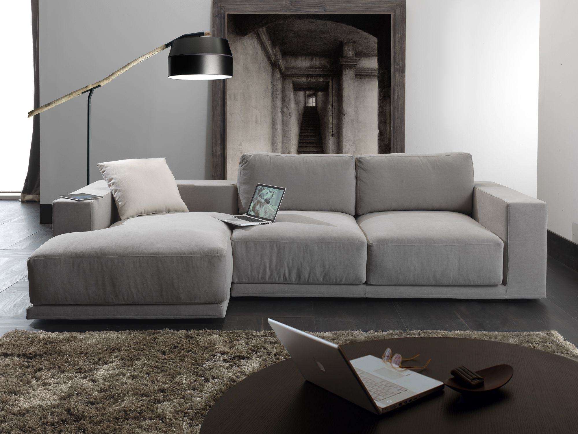 Modular Sofa / Contemporary / Fabric / 3 Seater – Relax Square Pertaining To Latest Contemporary Fabric Sofas (View 8 of 15)