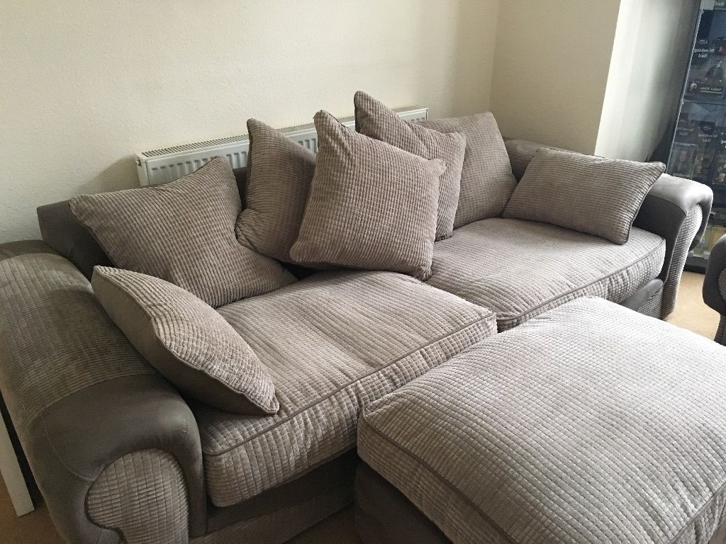 Molby Collection – 3 Piece Sofa Suite – 4 Seater Sofa, Cuddle For Most Current Large 4 Seater Sofas (View 3 of 15)