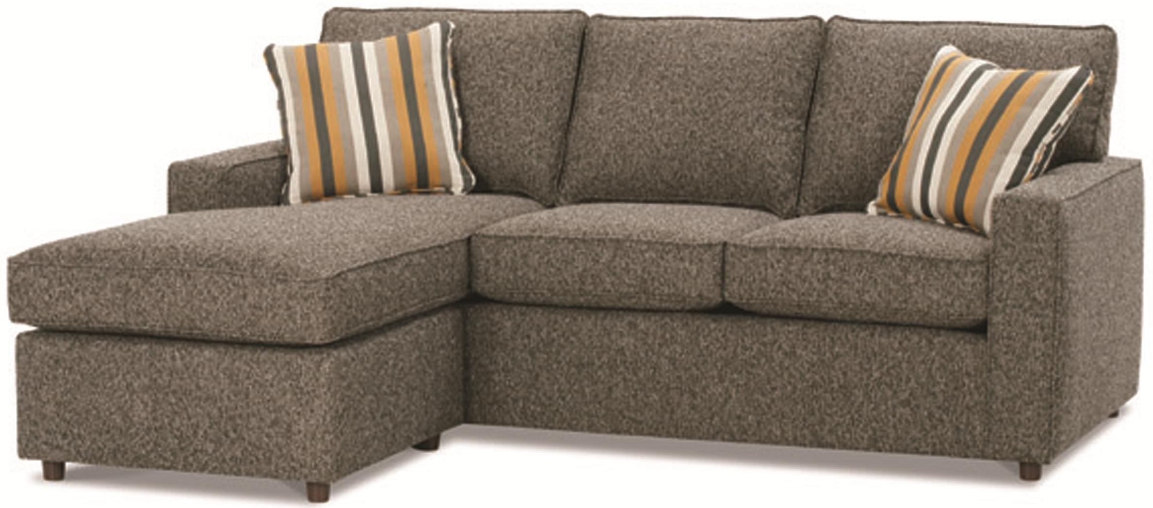 Monaco Contemporary Sofa With Reversible Chaise Ottomanrowe With Regard To Fashionable Minneapolis Sectional Sofas (View 9 of 15)