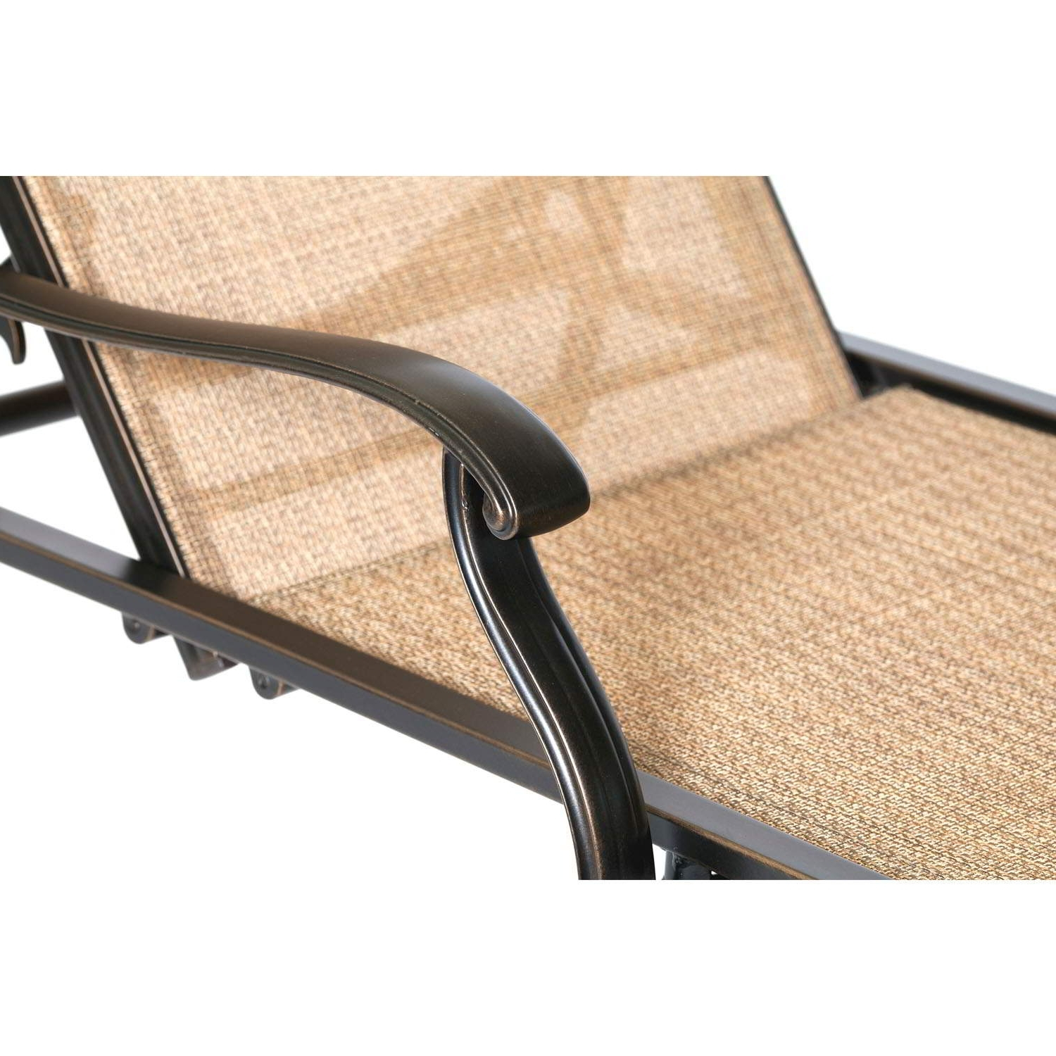Monaco Sling Back Chaise Lounge Chair – Monchs With Well Known Chaise Lounge Sling Chairs (View 8 of 15)