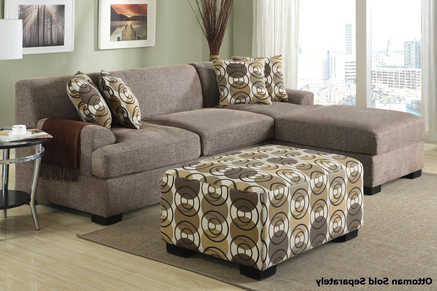 Montreal Ii Beige Fabric Sectional Sofa – Steal A Sofa Furniture With Regard To Trendy Montreal Sectional Sofas (View 6 of 15)