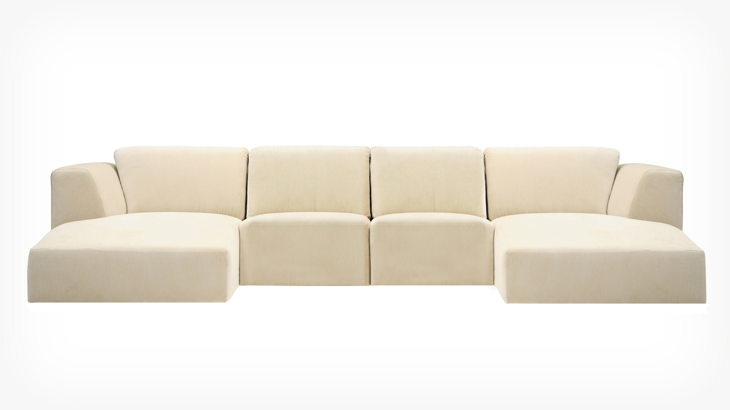 Morten 4 Piece Sectional Sofa With Chaise – Fabric Within 4 Piece Sectional Sofas With Chaise (View 5 of 15)