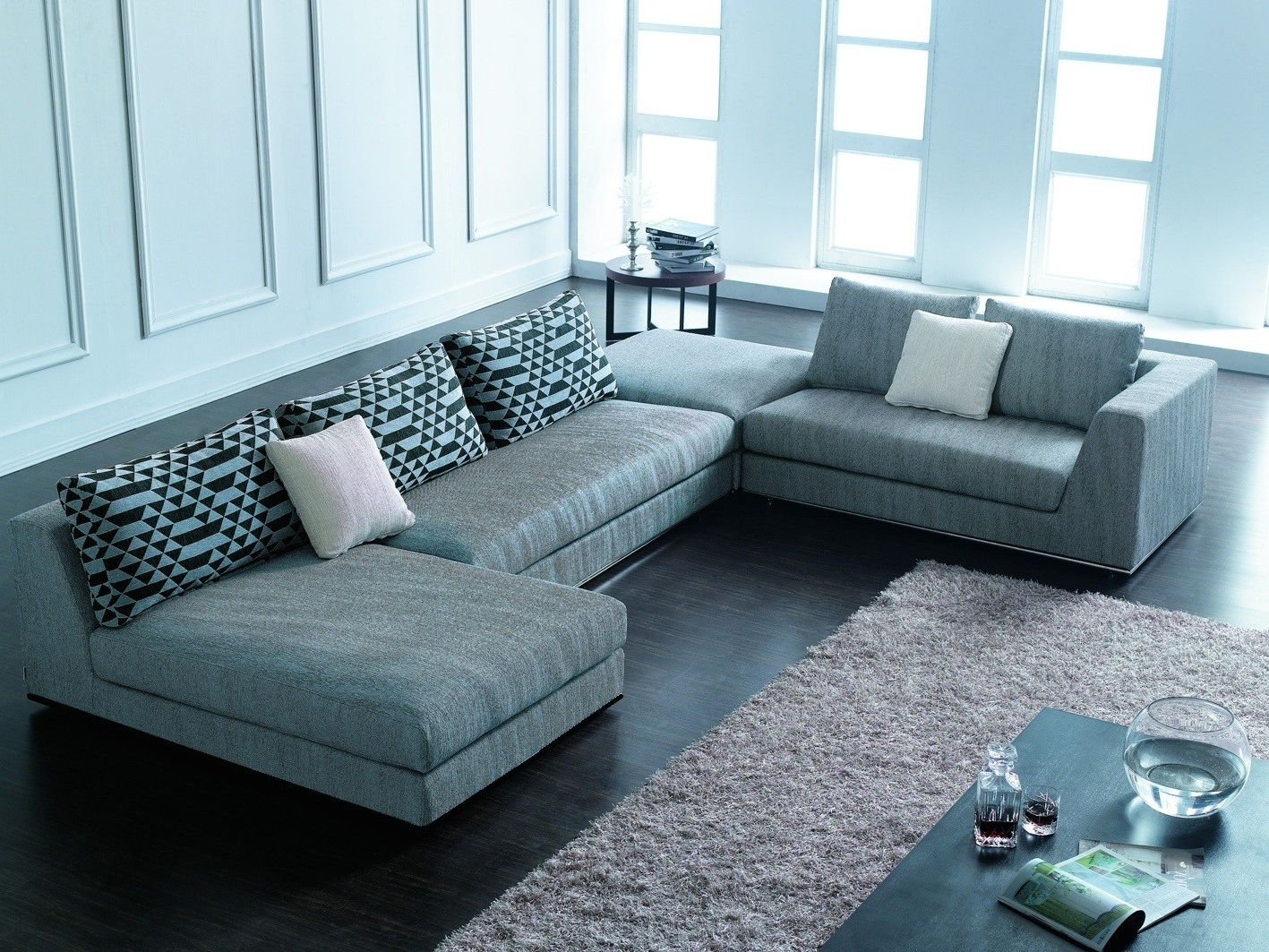 Most Comfortable Sectional Couches — Cabinets, Beds, Sofas And Throughout Most Recent Modern Sectional Sofas (View 7 of 15)