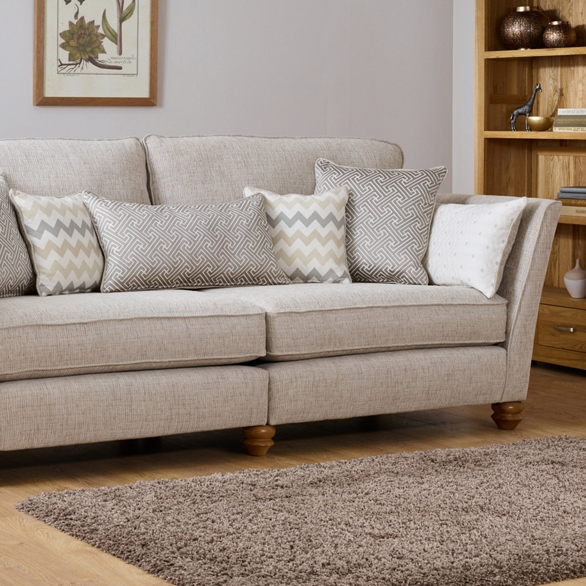 Most Current 4 Seater Sofas Regarding Oak Furniture Land Sofa Quality (View 14 of 15)
