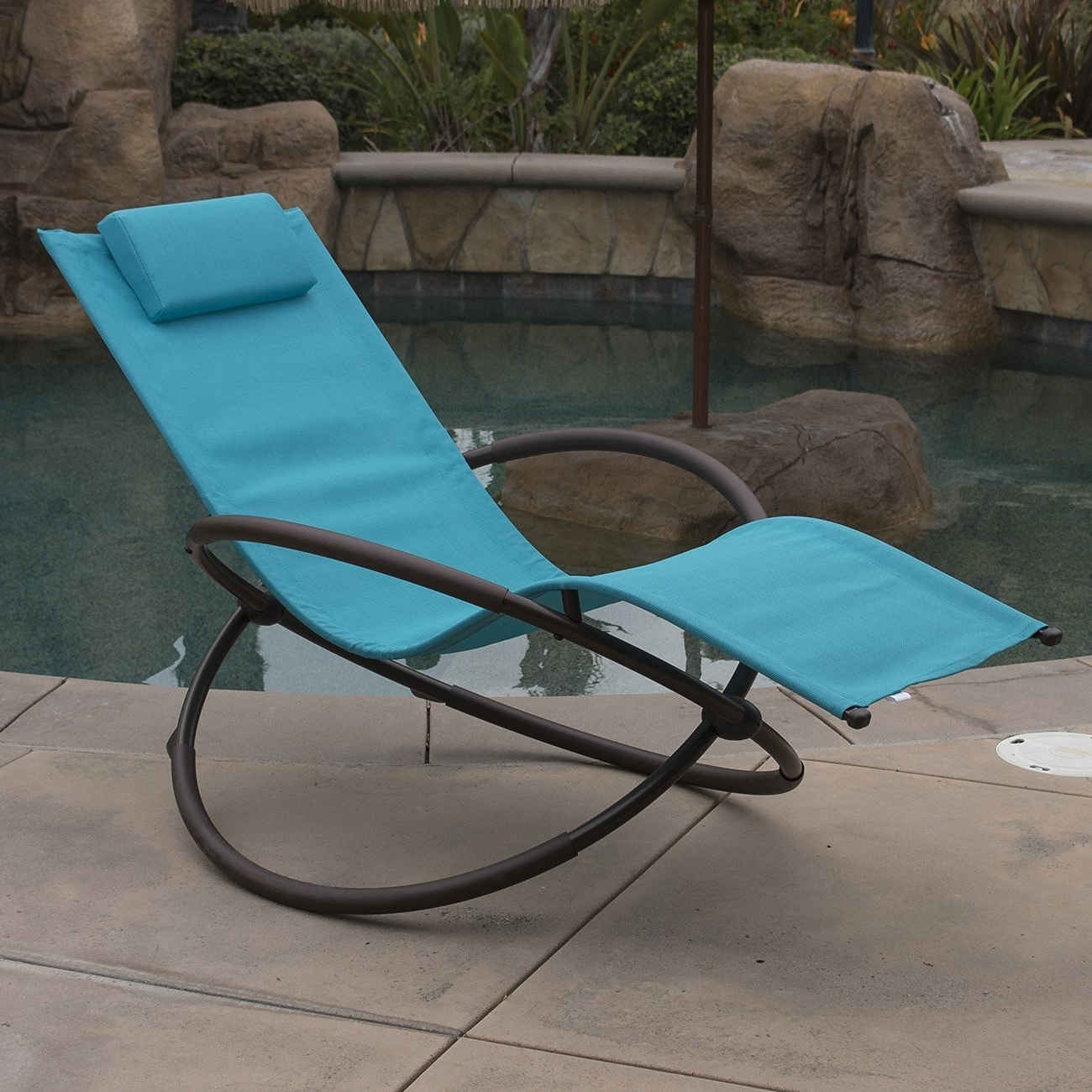 Most Current Amazon: Belleze Orbital Foldable Zero Gravity Lounge Chair Pertaining To Orbit Chaise Lounges (View 2 of 15)
