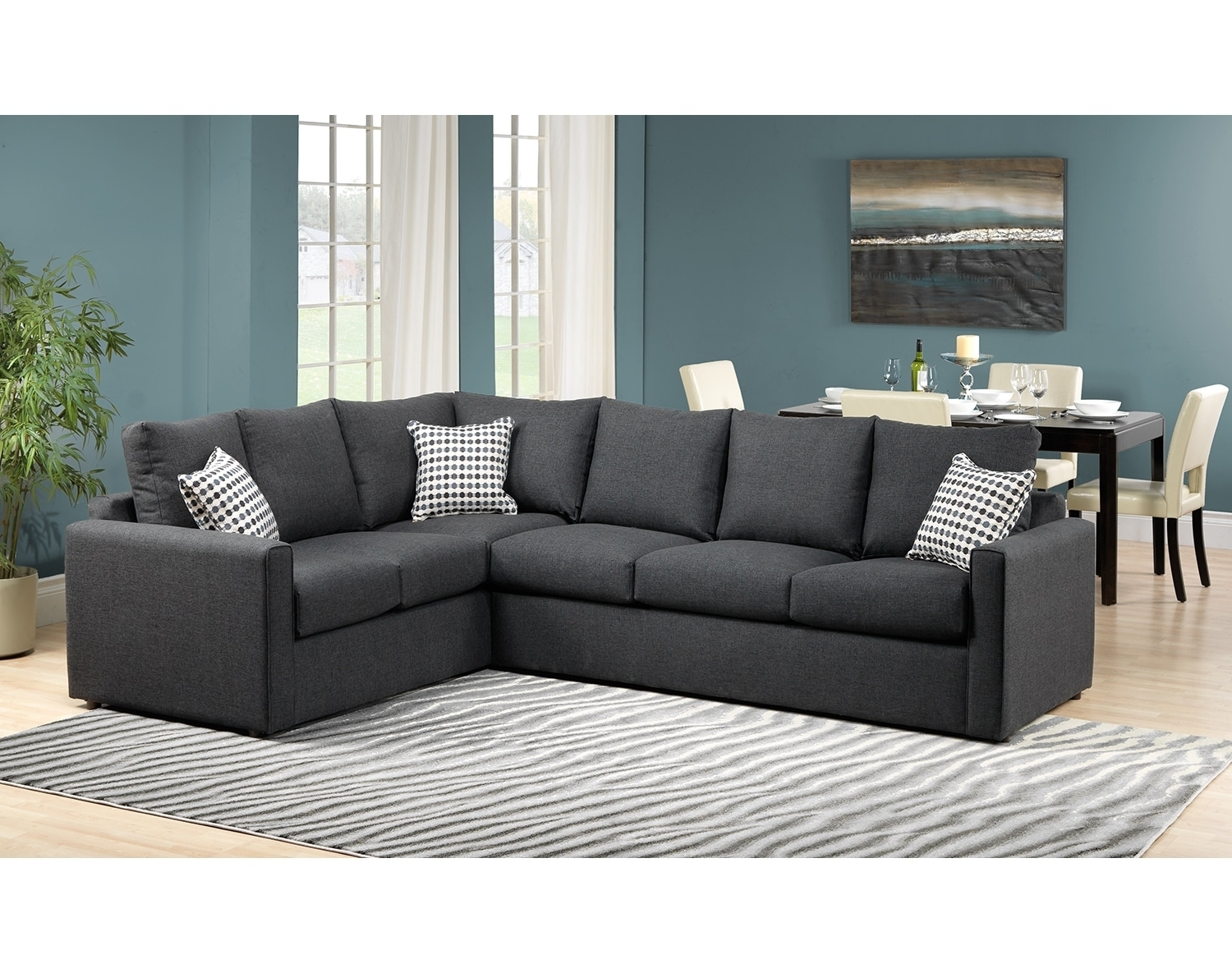 Most Current Athina 2 Piece Sectional With Left Facing Queen Sofa Bed For Sectional Sofas At Brampton (View 6 of 15)