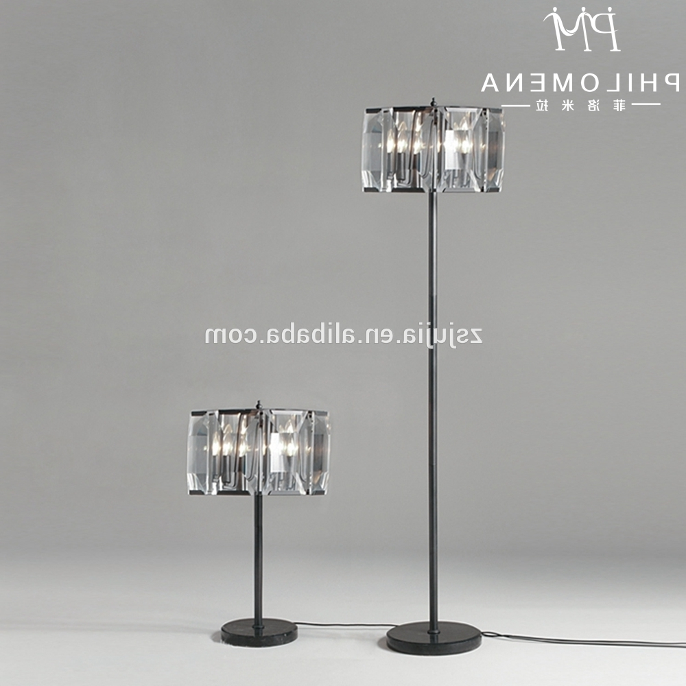 Most Current Black Chandelier Standing Lamps Inside Crystal Lamp Stand, Crystal Lamp Stand Suppliers And Manufacturers (View 12 of 15)