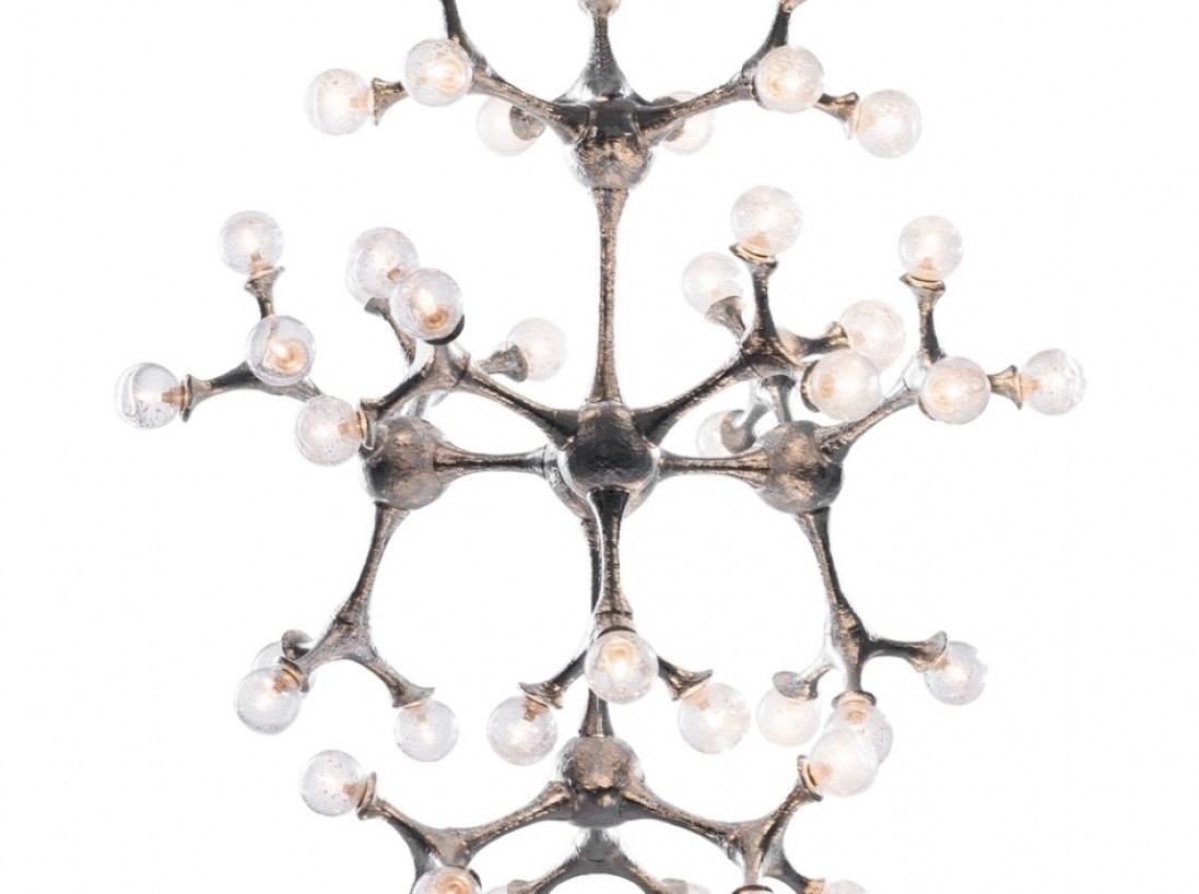Most Current Chandelier : Atom Chandelier Trendy' Engrossing 1950S Atomic Regarding Atom Chandeliers (View 9 of 15)