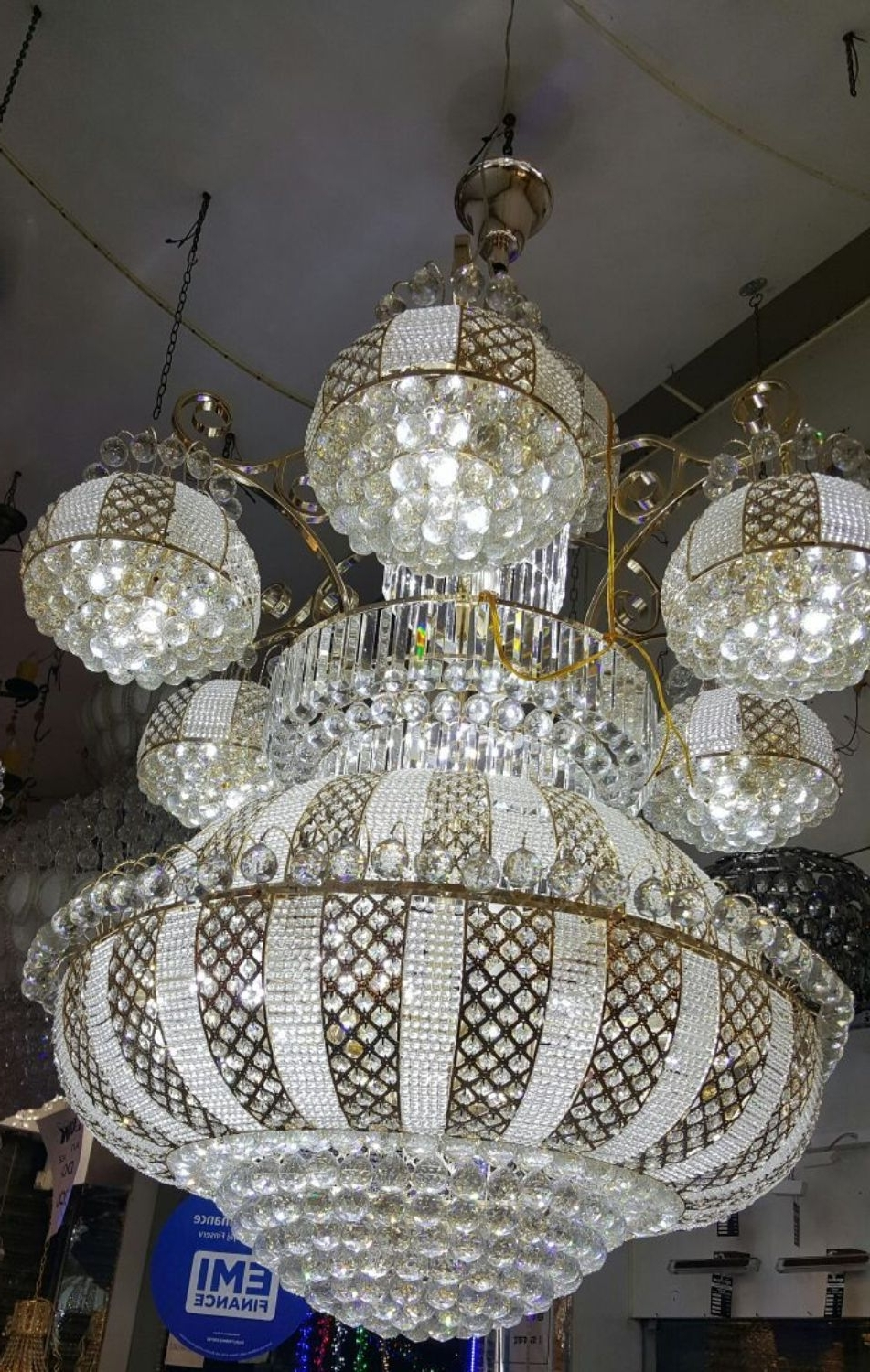 Most Current Chandeliers Design : Marvelous Terrific Large Crystal Chandelier Big Regarding Cheap Big Chandeliers (View 12 of 15)