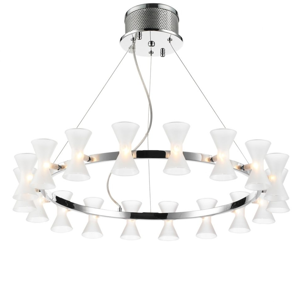 Most Current Chandeliers : Iberlampgolden Lighting Concord Modern Pinterest With Clip On Chandeliers (View 8 of 15)
