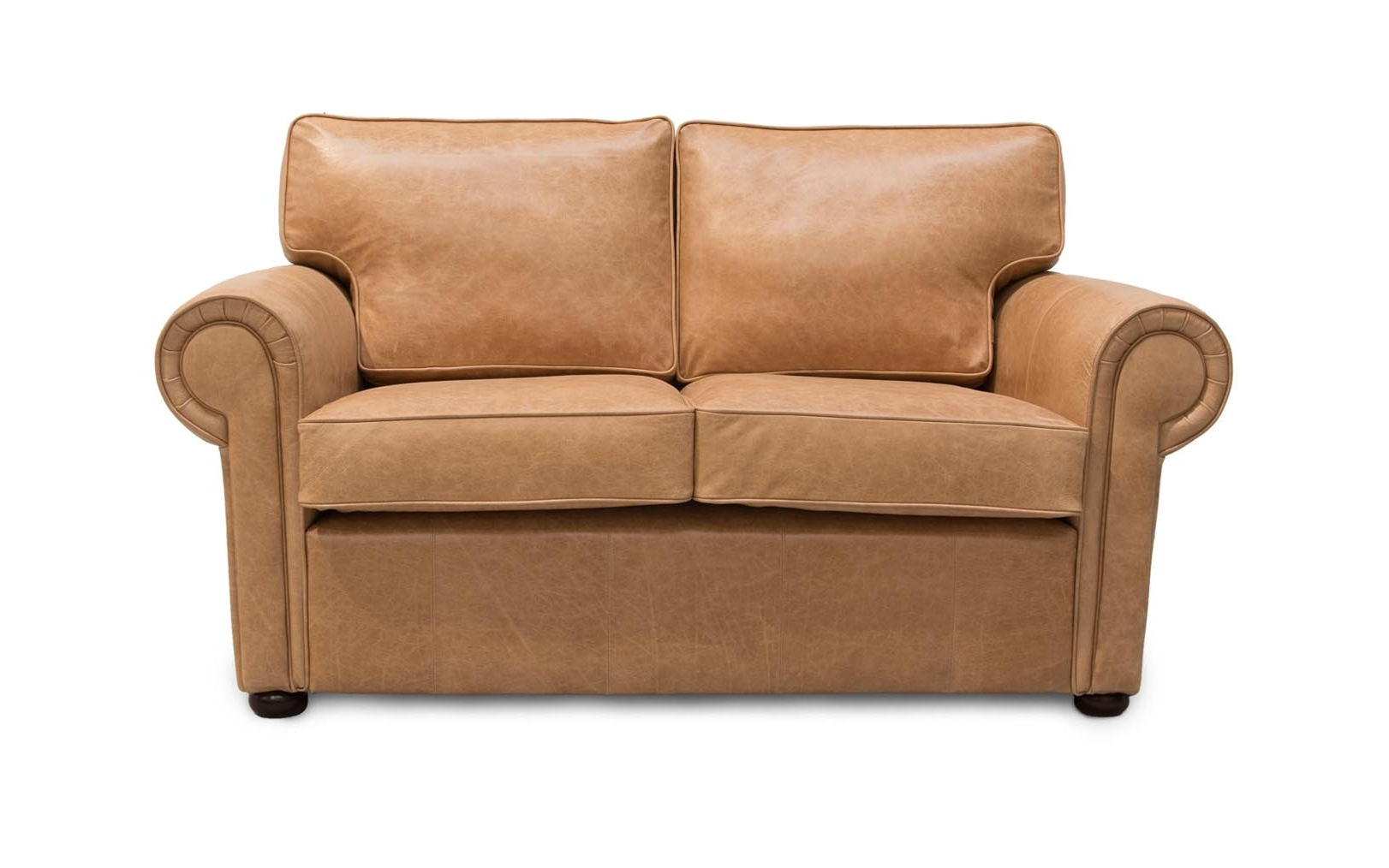 Most Current Clare Traditional Scroll Arm Leather Sofas – Uk Made To Order In Throughout Aniline Leather Sofas (View 13 of 15)