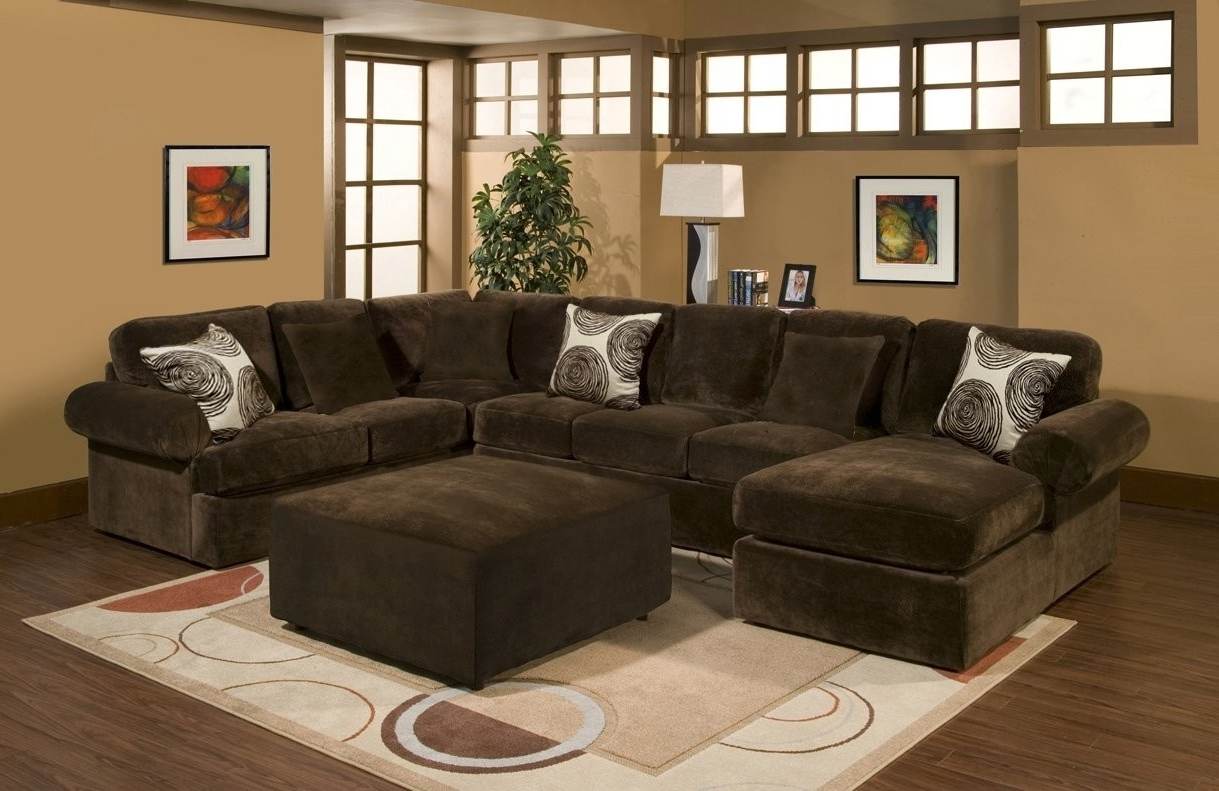 Most Current Comfort Industries 3 Pc Bradley Sectional Sofa With Regard To Plush Sectional Sofas (View 7 of 15)