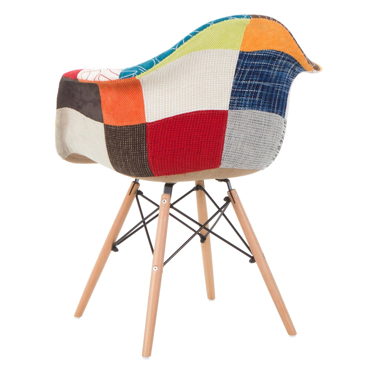 Most Current Design D'intérieur ~ Chaise Eames Patchwork Charles Ray Style Pertaining To Eames Chaises (View 13 of 15)