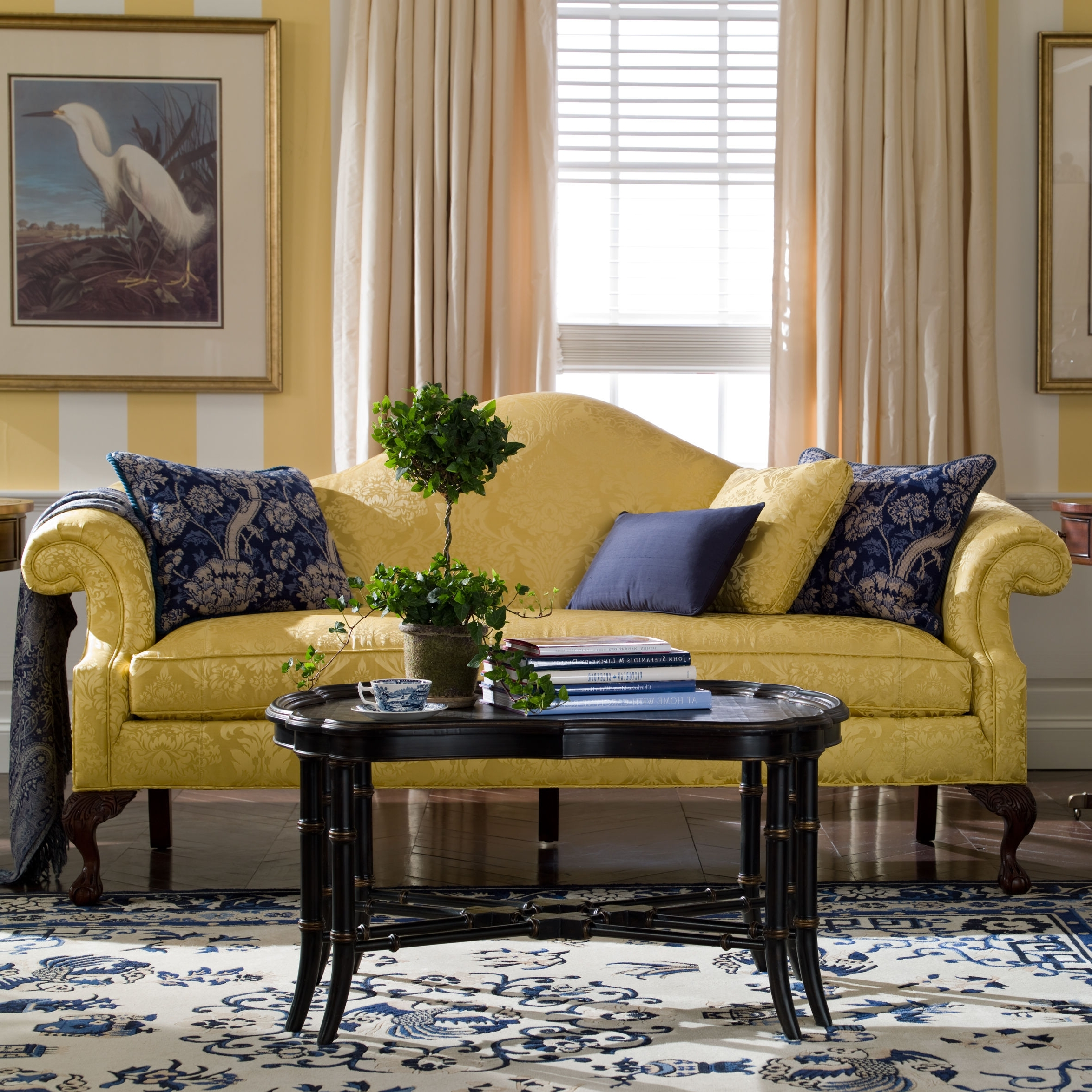 Most Current Ethan Allen Sofas And Chairs Pertaining To Hepburn Sofa – Ethan Allen (With Different Fabric) (View 8 of 15)