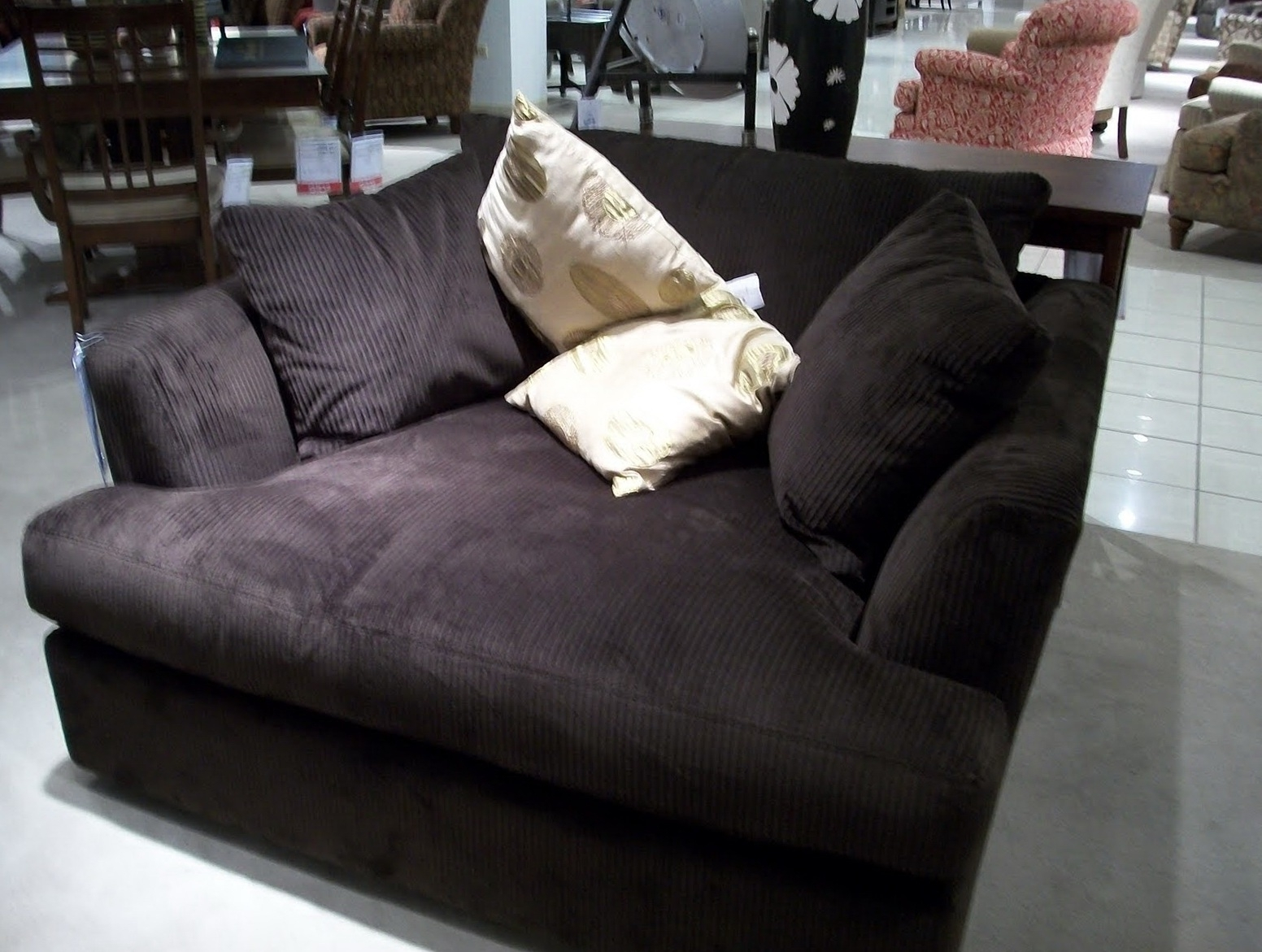Most Current Extra Wide Chaise Lounges With Sofa With Reversible Chaise Lounge Custom Sofa Cushions Sofa (View 2 of 15)