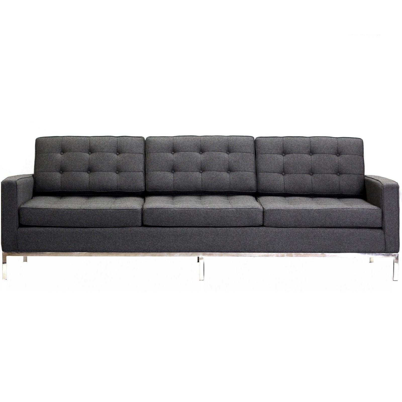 Most Current Florence Knoll Style Sofa Couch – Wool Within Florence Knoll Style Sofas (View 11 of 15)