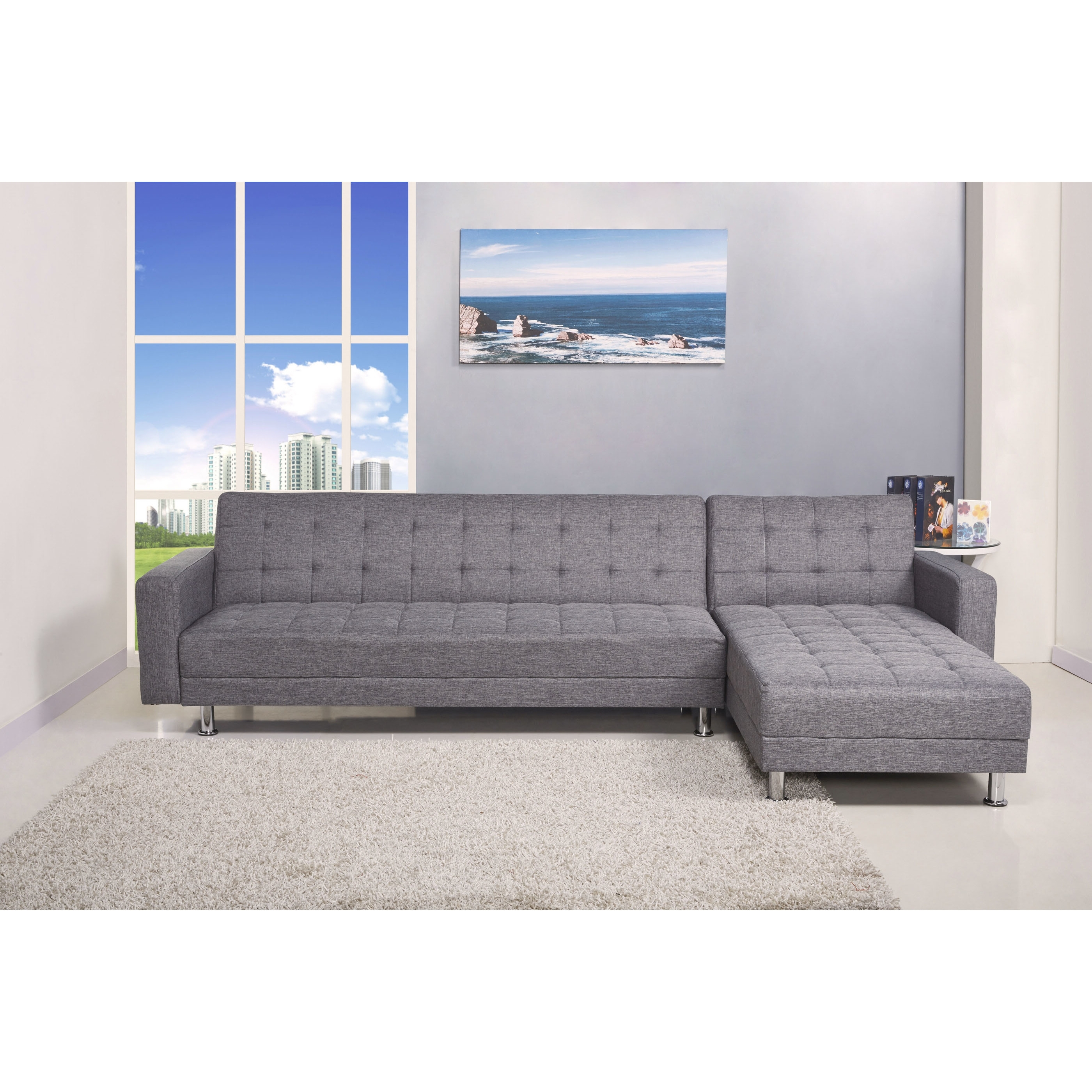 Most Current Furniture & Rug: Sectional Sleeper Sofa (View 11 of 15)