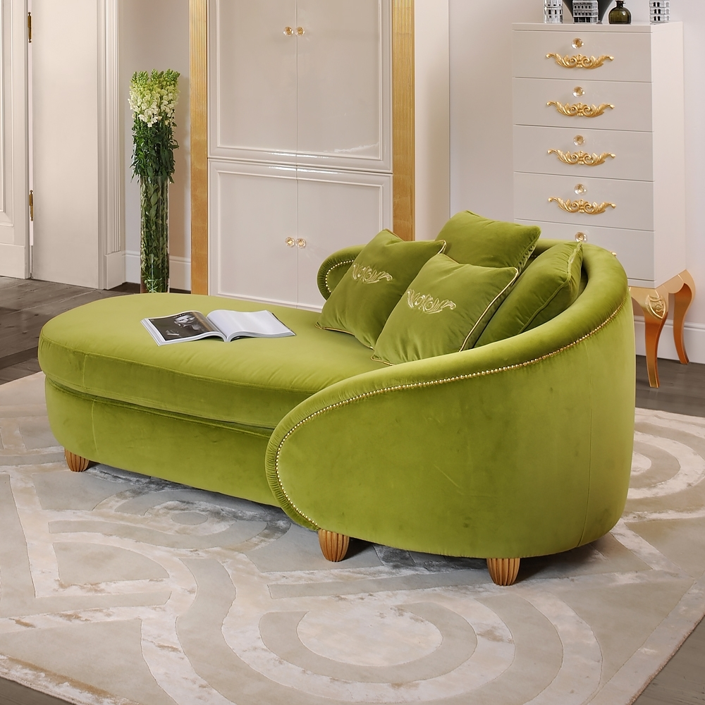 Most Current Green Chaises Intended For Luxury Chaise Longue – Exclusive High End Designer Chaise Longues (View 11 of 15)