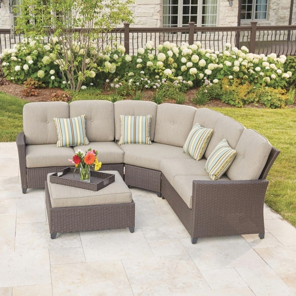 Most Current Home Depot Sectional Sofas Intended For 25 Best Ideas Of Outdoor Sectional Sofa Home Depot (View 7 of 15)