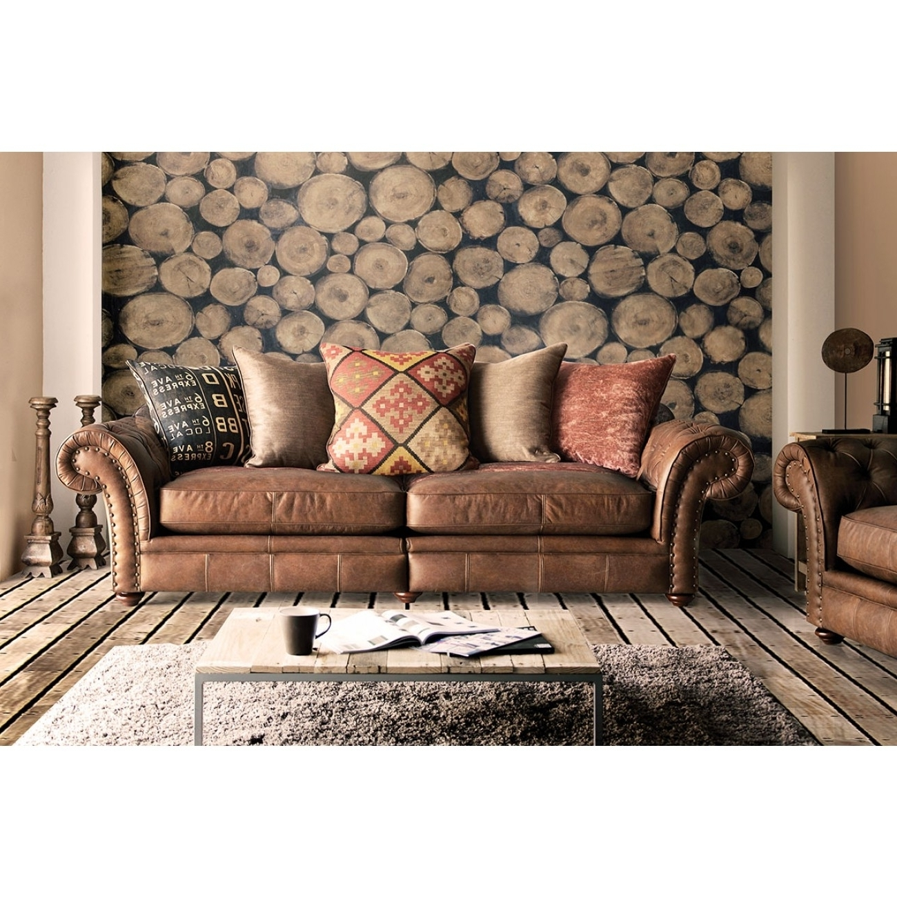 Featured Photo of Leather And Cloth Sofas