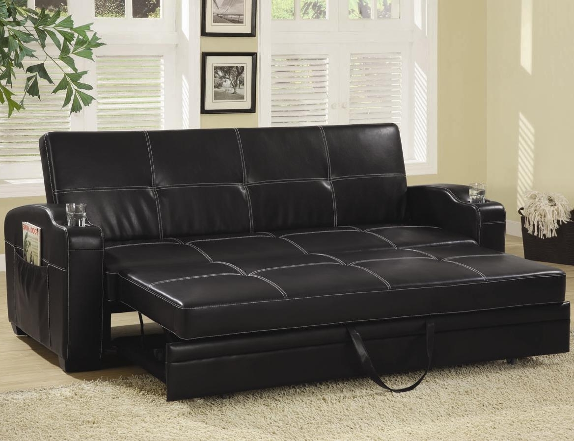 Most Current Looking Classy, Elegant, And Stylish With Leather Sofa Bed Throughout Leather Sofas With Storage (View 8 of 15)