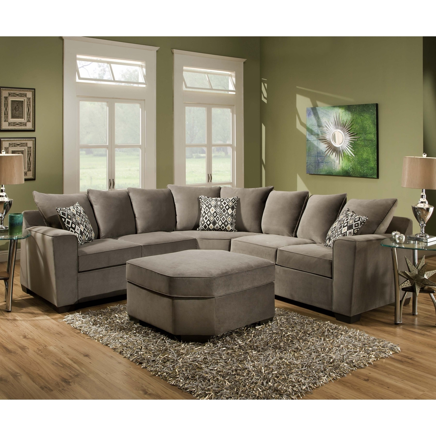 Most Current Plush Sectional Sofas For Latest Trend Of Plush Sectional Sofas 19 About Remodel Sectional (View 8 of 15)