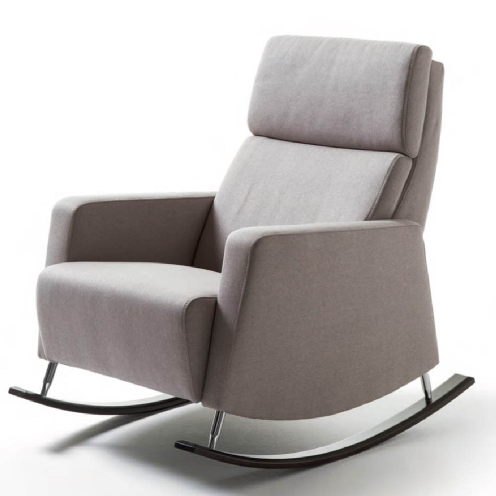 Most Current Rocking Sofa Chairs With Dakota Rocking Chair – Fabric – Sofa & Chairs (View 10 of 15)